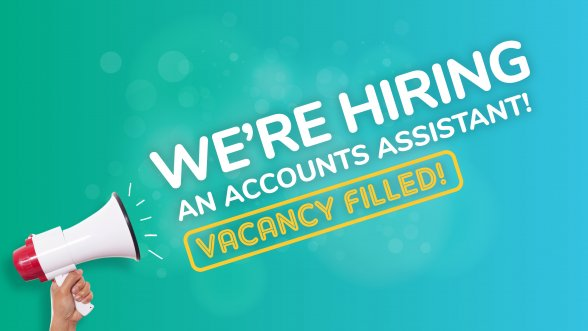 We're hiring an Accounts Assistant!